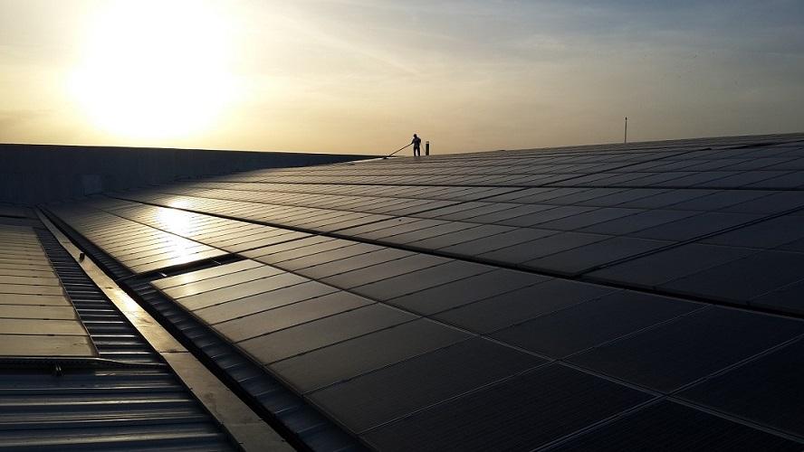 ENERAS denizli güneş paneli temizleme