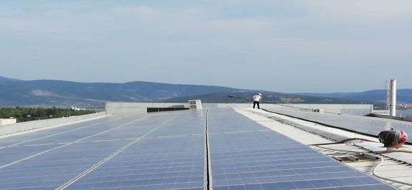 eneras enerji panel temizliği